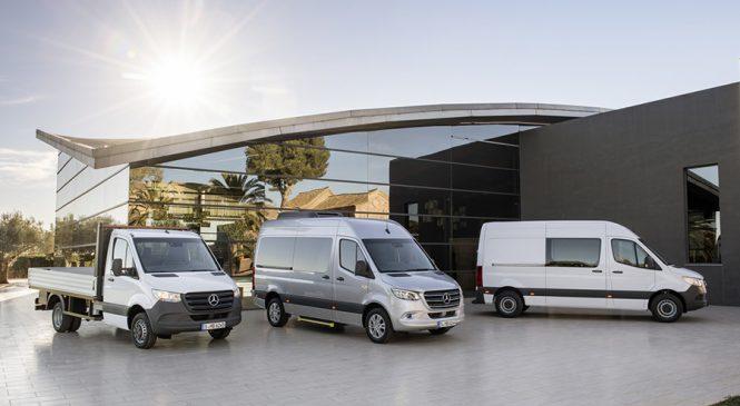 Mercedes-Benz Sprinter ganha nova geração e terá versão elétrica em 2019