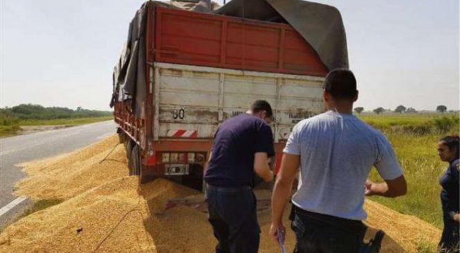 Transportadores de grãos realizam greve violenta na Argentina
