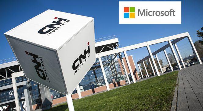 CNH Industrial e Microsoft vão redefinir o mundo das máquinas e dos veículos conectados