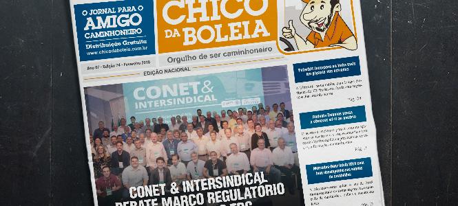 74ª Edição Nacional – Jornal Chico da Boleia