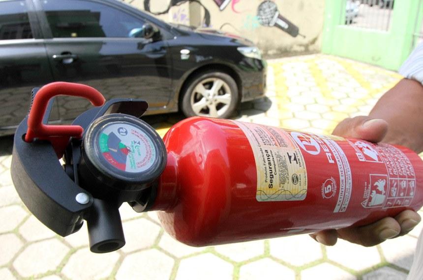 Extintor de incêndio pode voltar a ser item obrigatório