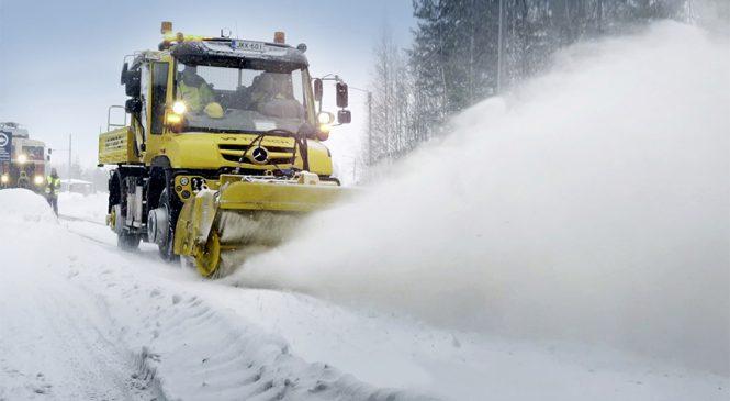 Unimog: o abominável veículo da neve