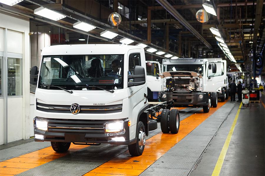 Caminhão VW Delivery 6.160 estreia nas concessionárias de todo o país