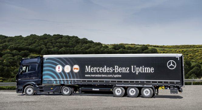 Mercedes-Benz estende serviço de diagnose para reboques