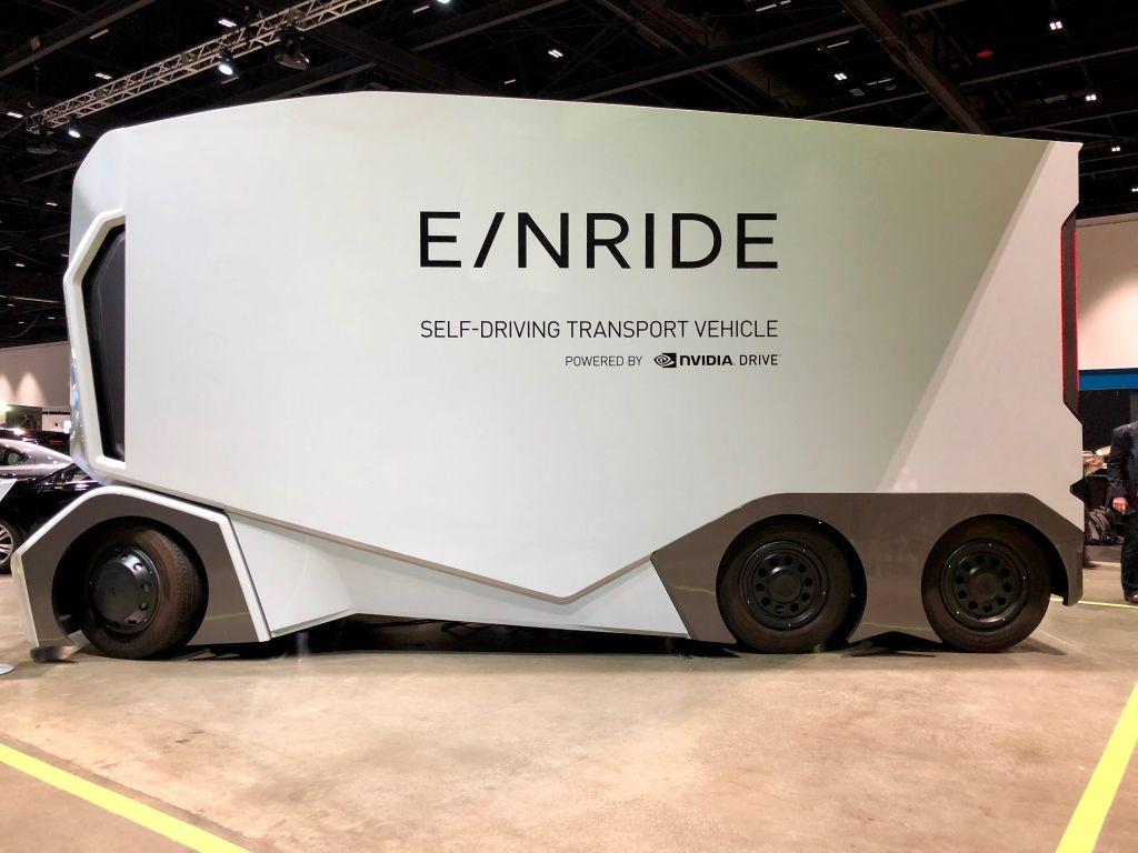 Einride iniciará testes de seu caminhão autônomo em agosto deste ano