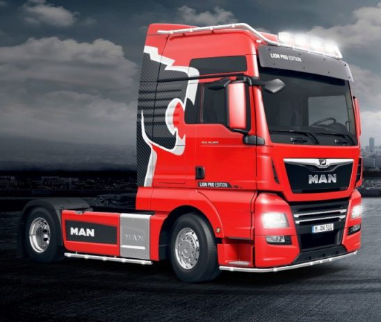 Edição especial: MAN Truck Alemanha traz o TGX Lion Pro
