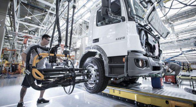 Mercedes-Benz tem nova fábrica em São Bernardo Campo