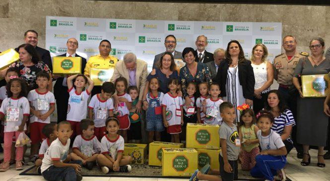 24 mil alunos do DF receberão orientações de Educação para o Trânsito das cartilhas do Programa OBSERVATÓRIO EDUCA