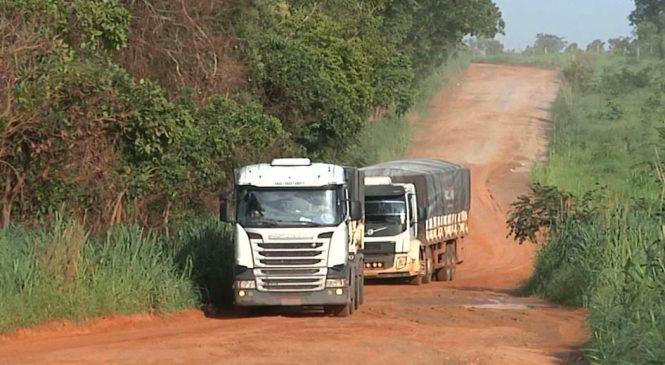 Caminhoneiros reclamam das péssimas condições das estradas no Maranhão