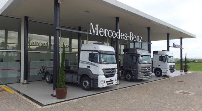 Mercedes-Benz projeta 20% de aumento nas vendas de caminhões no Alto Paranaíba