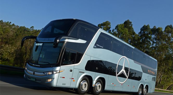 Mercedes-Benz do Brasil lidera as vendas de ônibus no primeiro bimestre