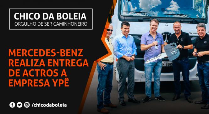 [VÍDEO] Ypê renova sua frota com caminhões Mercedes-Benz