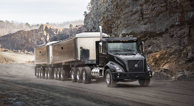 Volvo apresenta o pesado VNX renovado