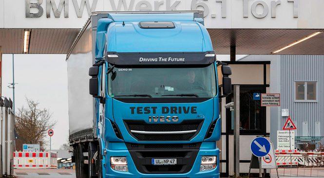 Grupo BMW escolhe a IVECO para testar tecnologia GNV
