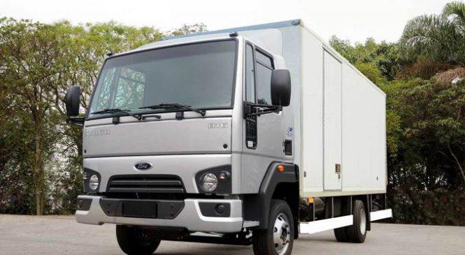 Ford entrega 40 caminhões Cargo 816 para o governo gaúcho