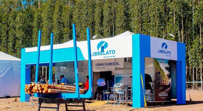 Librelato expõe inovações na linha florestal de implementos na Expoforest 2018