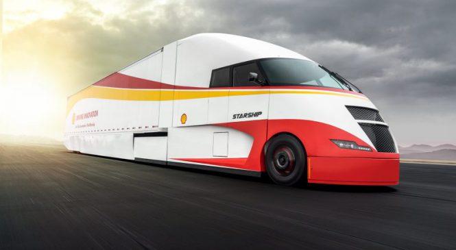 Shell e AirFlow Truck Company apresentam a Starship – uma carreta hipereficiente