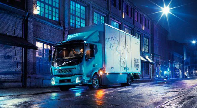Volvo lança seu primeiro caminhão 100% elétrico