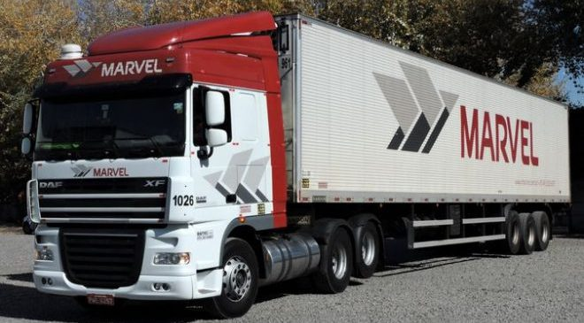 Transportes Marvel divulga vaga para motorista no Mercosul