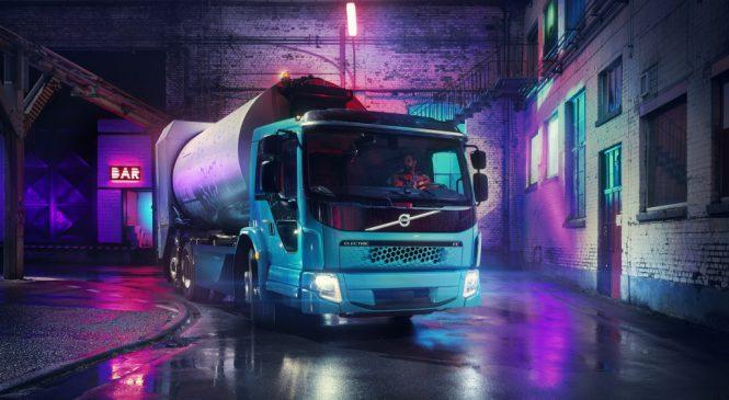 Volvo introduz mais um caminhão elétrico na gama