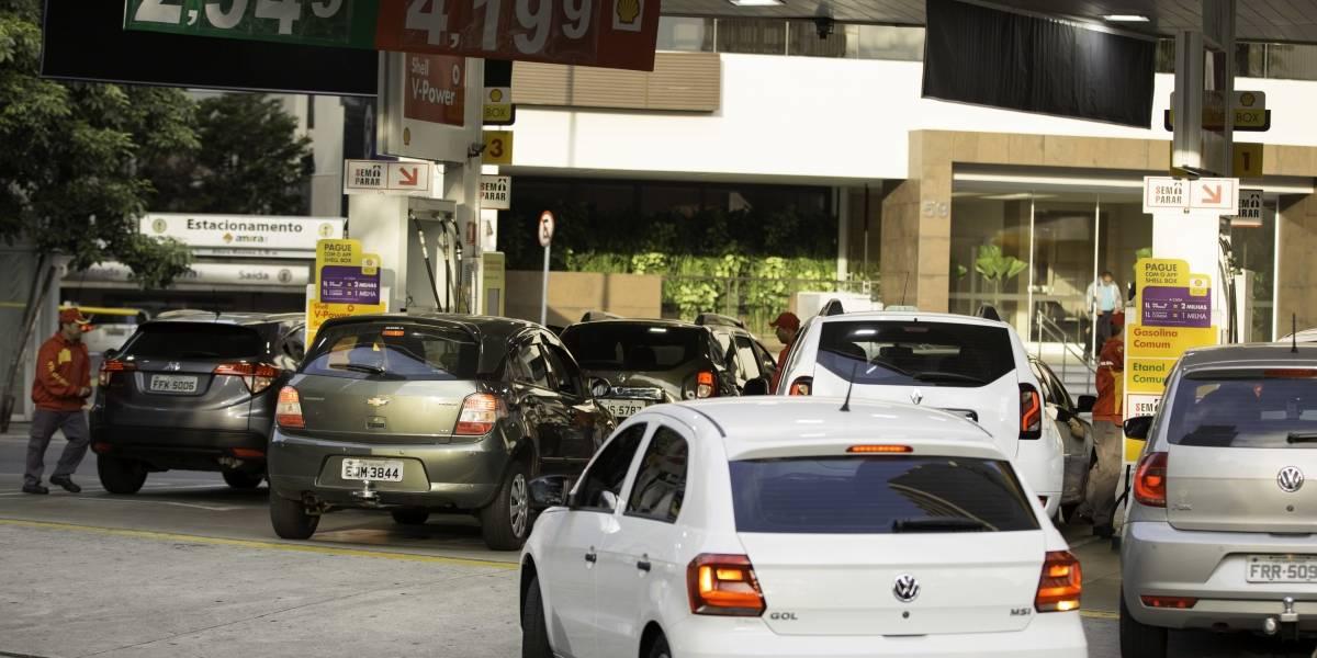 São Paulo pode ficar sem combustíveis em 'quase 100%' dos postos ainda hoje