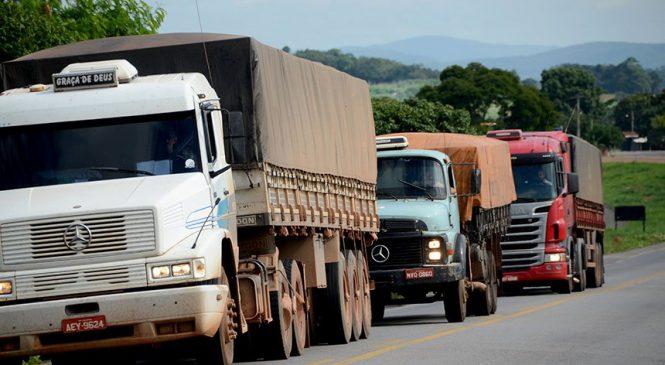 Projeto que regula preço mínimo do frete leva em conta valor do diesel e dos pedágios