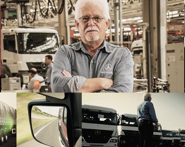 "Mercedes-Benz lança ""Embaixador da Voz das Estradas"" para ouvir clientes de todo o Brasil"