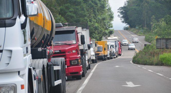 Caminhoneiros autônomos poderão receber 5% dos gastos com combustível