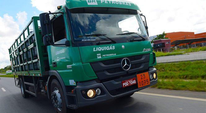 Cliente confirma ganhos com a manutenção do Atego na distribuição de botijões de gás