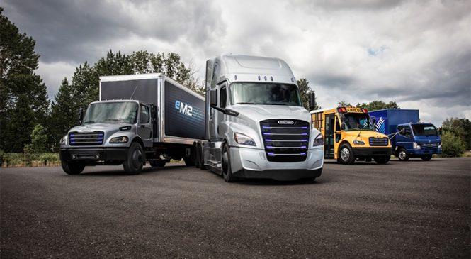 Daimler Trucks lança caminhões elétricos nos Estados Unidos