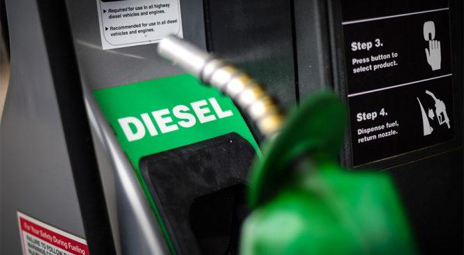 Desconto do diesel não chega aos postos
