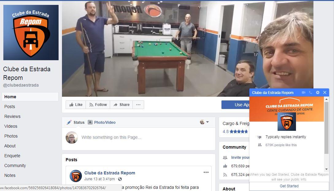 Repom lança primeiro chatbot do setor para interagir com caminhoneiros no Facebook