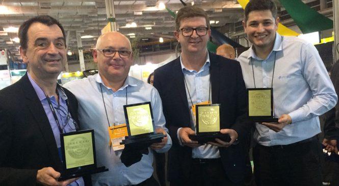 Vipal Borrachas conquista três troféus no Prêmio Pneushow 2018