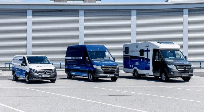 Sprinter e Vito elétricos serão destaques da Mercedes-Benz no IAA 2018