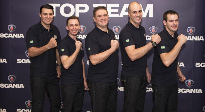Melhor equipe de Serviços do Brasil vai disputar final mundial do Scania Top Team 2018