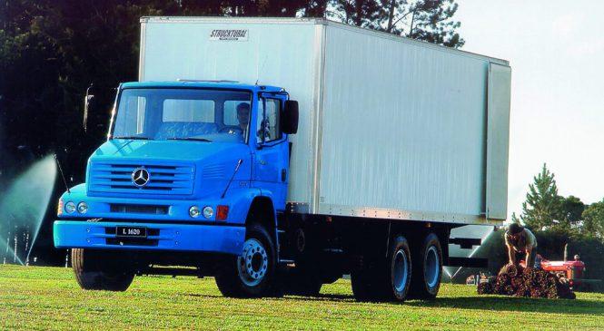 Mercedes-Benz L-1620 ainda um dos mais negociados