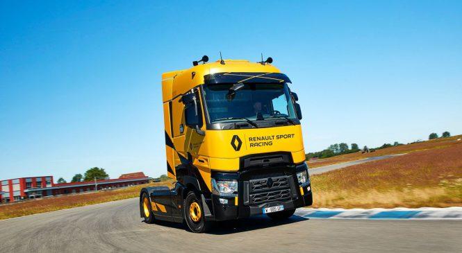 Renault Trucks vestido de F1