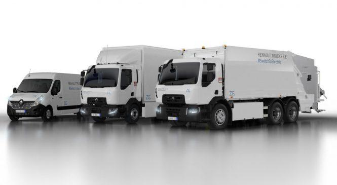 Renault revela sua segunda geração de caminhões elétricos