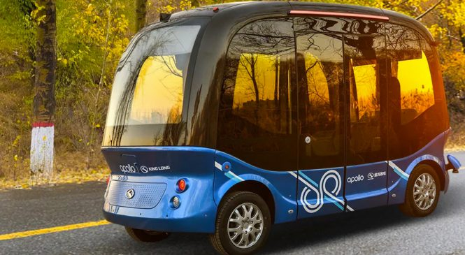 Baidu vai lançar ônibus autônomos no Japão em 2019