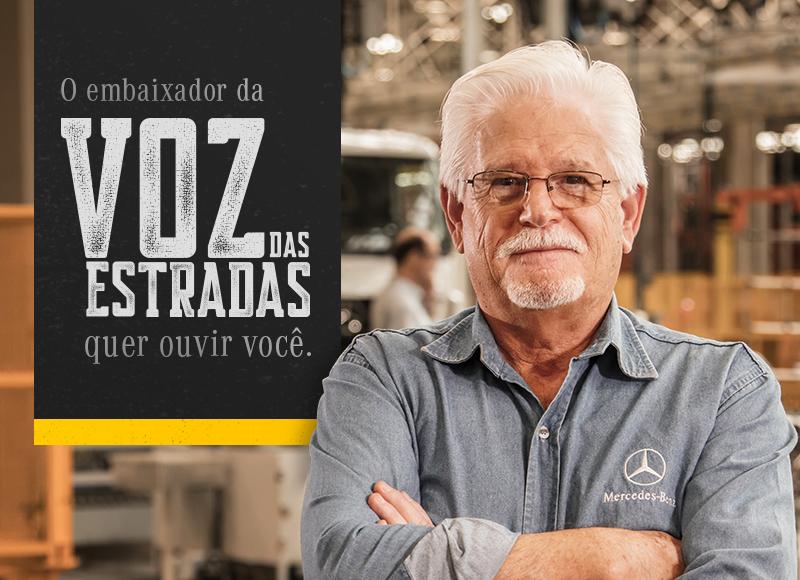 "João Moita  o ""Embaixador da Voz das Estradas"" da Mercedes-Benz"
