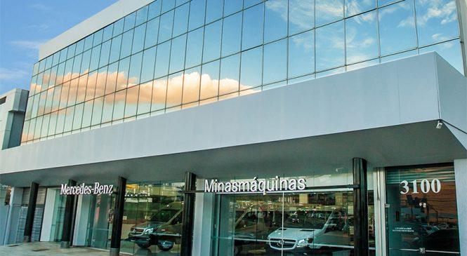 Van Center Mercedes-Benz ganha primeira loja exclusiva em Minas Gerais
