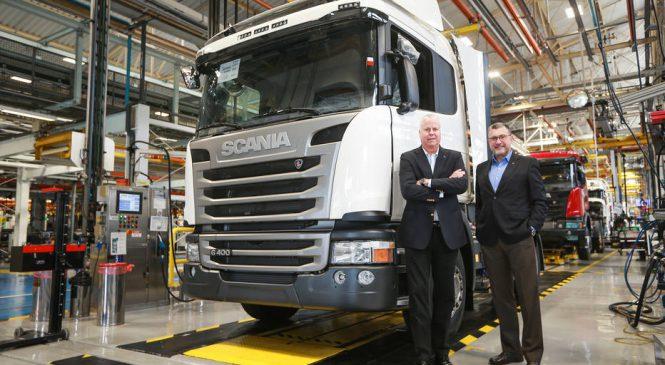 Scania lança nova geração de caminhões 'mais limpos'