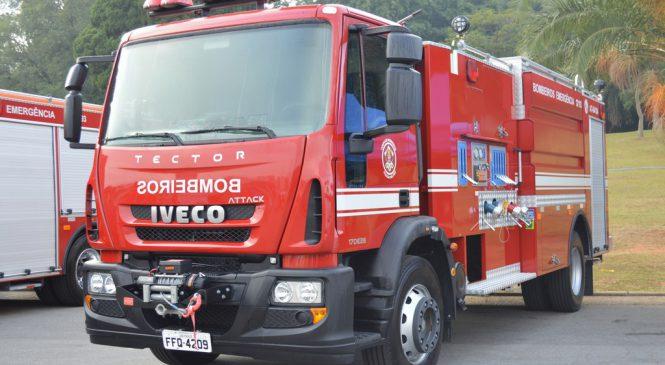 São Paulo aprova a eficiência das transmissões automáticas Allison para os caminhões de bombeiros
