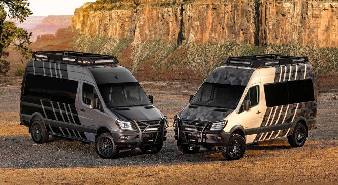 Mercedes-Benz Lexani LM-EXTV une o luxo ao todo-terreno
