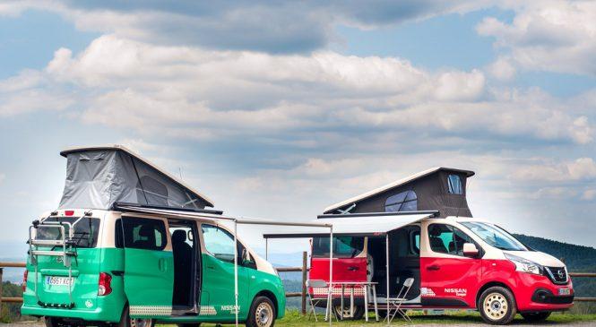 Nissan apresentou, na Espanha, dois modelos de furgão para os fãs de aventuras