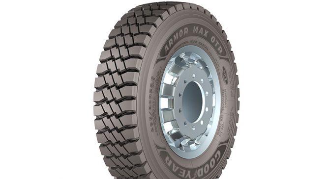 Linha MaxSeries da Goodyear é ampliada com o lançamento do pneu Armor MAX OTR