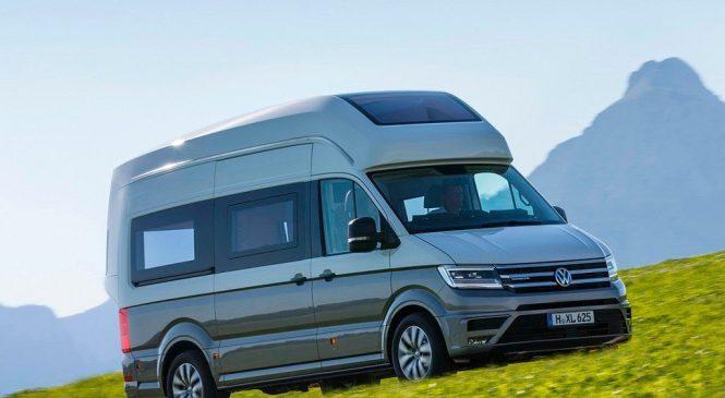 Volkswagen Grand California apresentado no Caravan Salon de Düsseldorf
