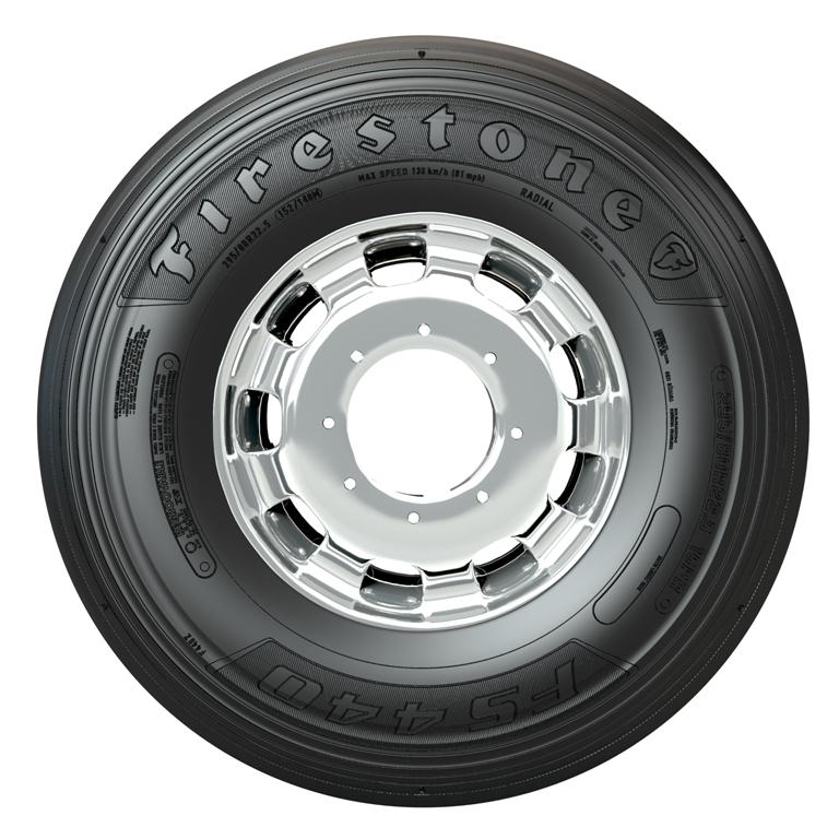 """Firestone lança pneu para o segmento rodoviário com melhor performance quilométrica e nota """"A"""" em aderência ao piso molhado"""