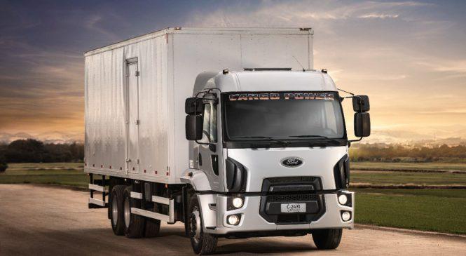 Ford caminhões apresenta o novo Cargo Power 2431 6×2, na Fenasucro
