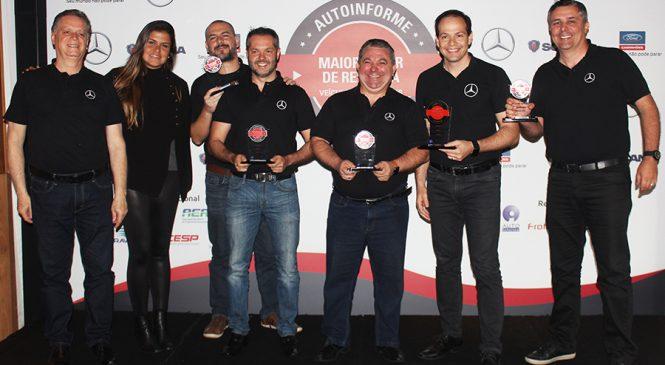 Mercedes-Benz é a mais premiada com o selo Maior Valor de Revenda